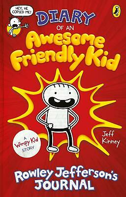 Diary of an Awesome Friendly Kid: Rowley Jefferson's Journal (Diary of a ...