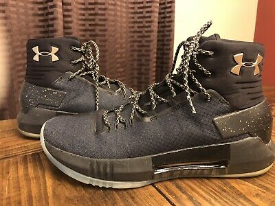 1a5b04f6aba1 NEW UNDER ARMOUR UA Drive 4 Red Basketball Shoes Sneakers 10.5 FREE ...