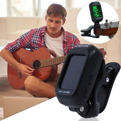 Digital LED Display Chromatic Clip-On Electric Tuner For Bass Guitar Ukulele