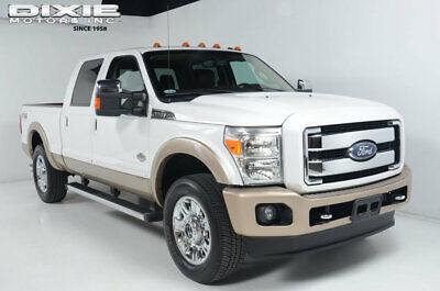 2013 Ford SUPER DUTY F-250 F250-KING RANCH-4X4-DIESEL-SUNROOF-NAVIGATION-SONY KING RANCH-4X4-6.7 POWERSTOKE DIESEL-NAVIGATION-SUNROOF-HEATED COOLED SEATS-SONY