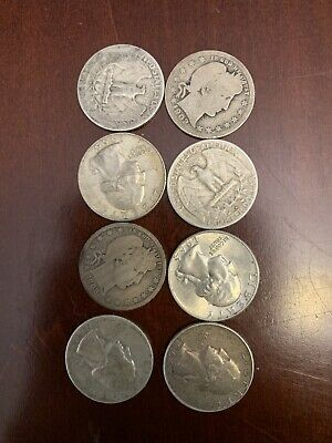 "Lot: $2 Face Value US 90% Silver Coins, ""Junk Silver"", Pre-1965, No Reserve!"