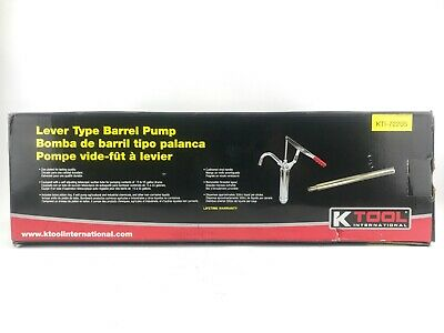 Barrel Pump Manual Lever Style- Fits 15 to 55 Gallon Drums