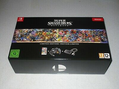 Super Smash Bros. Ultimate Limited Edition Import For Nintendo Switch Sealed