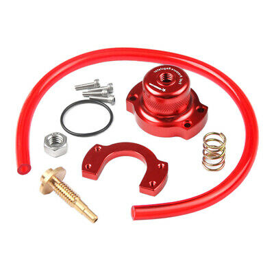 Adjustable Fuel Pressure Regulator Gauge Red Aluminum Professional Replace Mild