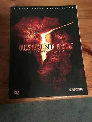 RESIDENT EVIL 5 Official Strategy Guide PS3 + XBOX 360