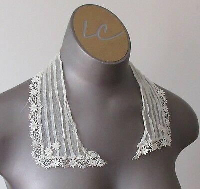Antique Victorian/Edwardian Lace Collar - L