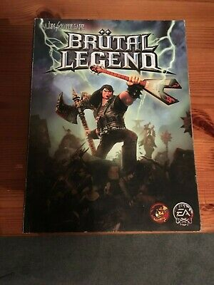 BRUTAL LEGEND Official Strategy Guide PS3 + XBOX 360