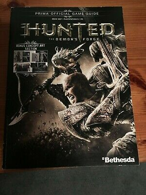 HUNTED THE DEMONS FORGE Official Strategy Guide PS3 + XBOX 360 + PC