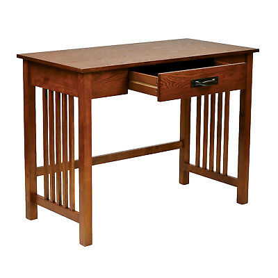Wondrous Solid Wood Mission Style Ash Oak Writing Computer Office Squirreltailoven Fun Painted Chair Ideas Images Squirreltailovenorg
