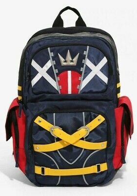 8d10a00f4a4 Kingdom Hearts Sora Cosplay Backpack Tactical Built Up Bioworld Laptop  Costume