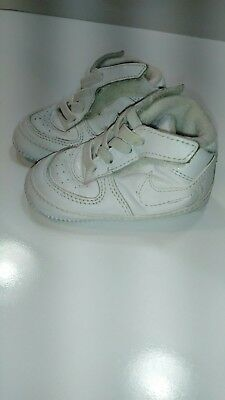 5c9a47f707 Nike Air Force 1 '08 Gift Pack Soft Bottom White Toddler Shoes Crib Size 3C