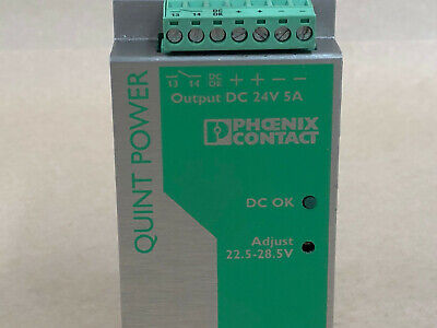 Phoenix Contact Quint Power D0014125 Rev 05 Quint-Ps-100-240Ac/24Dc/5