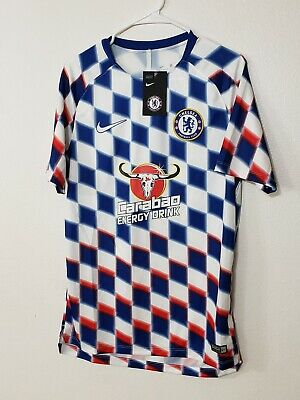 86a371343 NIKE FC CHELSEA 2018-19 Training Jersey 919937 101 Size M - $28.22 ...