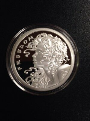 "2017 1 oz .999 Fine Silver Round Slave Queen/Freedom - ""Keep Calm and Slave On"""