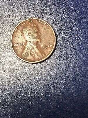 SALE 1929 Lincoln Wheat Cent Wheatie Penny - Free Shipping