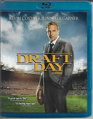 Draft Day on Bluray! Kevin Costner! Jennifer Garner! Family and Sports Drama!
