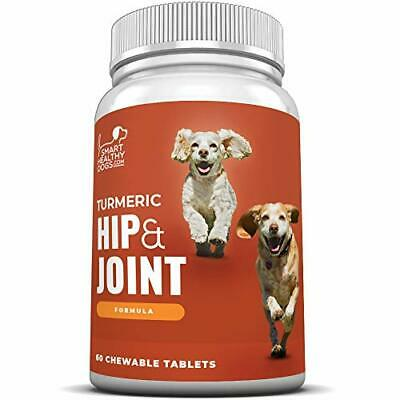 Glucosamine Chondroitin Turmeric Hip and Joint Supplement for Dogs. 60 Chews.