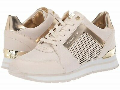 bb0919faa8b4 MICHAEL Michael Kors Billie Trainer Sneakers Women s Casual Shoes Sport Gold
