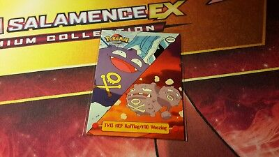 Koffing/Weezing TV13 Topps Pokemon Card NM