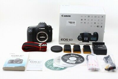 """""""Excellent-"""" Canon EOS 6D 20.2 MP Digital SLR Camera Body w/ Box From Japan"""