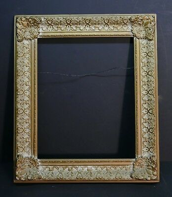 Beautiful Antique Highlite Gilded Intricately Ornate French Frame  20 x 16