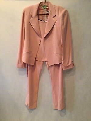 58745ddae62 Vintage - Sonia Rykiel - Women's 3 Piece Pink Pant Suit -Great Condition