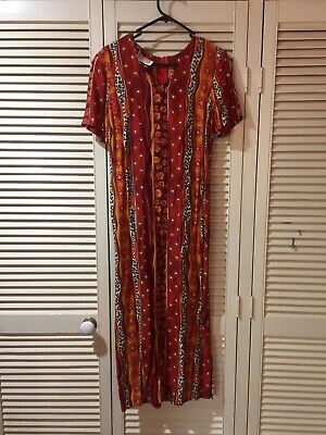 Dolina Vintage Size 10 Dress With Size Buttoned ,