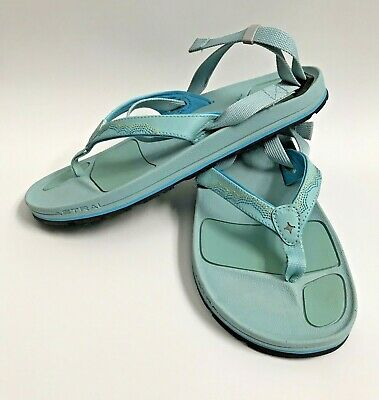 92bce1088 ASTRAL ROSA SANDAL Womens Size 9 Blue Hiking Outdoor Flip Flop EUC ...