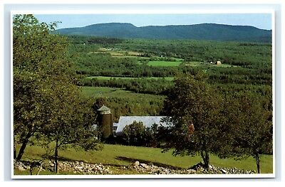 Postcard Farm Lands, Northern Maine A18