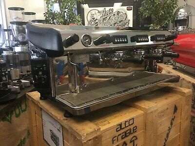 Expobar Megacrem  3 Group Stainless Steel Espresso Coffee Machine Restaurant Cup