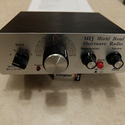 MFJ World Band Shortwave Radio Model MFJ-8100