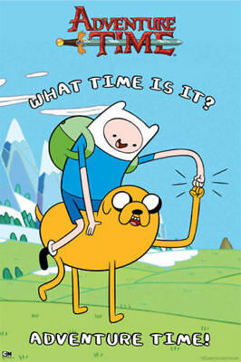 Adventure Time Fist Pound Poster