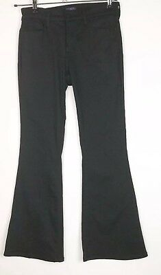 NYDJ Not Your Daughters Pants Womens Size 6P Black Stretch Flare Lift + Tuck