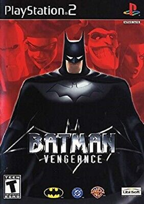 Batman Vengeance Sony PlayStation 2 PS2 Disc Manual Case TESTED FREE SHIPPING
