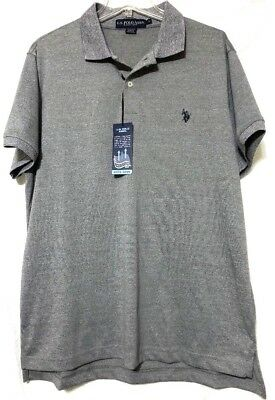 Mens US Polo Assn Long Sleeve Polo ShirtTopBig Pony