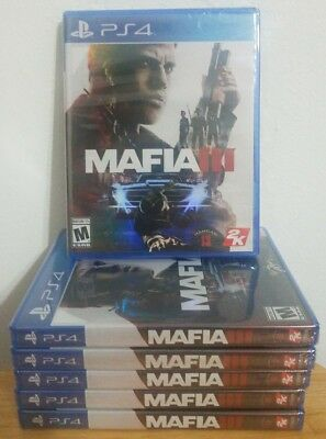 Mafia III 3 - Playstation 4, PS4 - Brand New & Factory Sealed