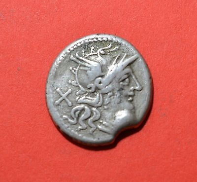 AR Denarius, C.Titinius - 141 BC - Rev: Venus in biga right, Sear 102   [#6718]