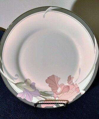 NORITAKE China CAFE DU SOIR 9091 New Decade Pattern DINNER PLATE 10-5/8""