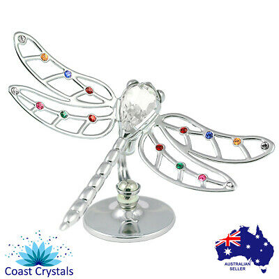 CRYSTOCRAFT Dragonfly with SWAROVSKI crystals