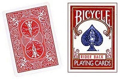 One Way Force Deck - Red Bicycle - Ace Of Clubs - 52 Cards All The Same - New