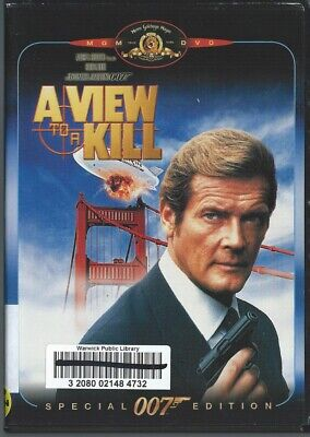 A View to a Kill Special 007 Edition w Roger Moore DVD Movie