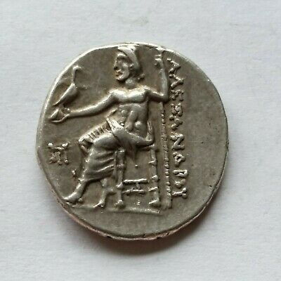 All-around nice! Greek ALEXANDER III The Great AR Drachm, Struck under Antigonus