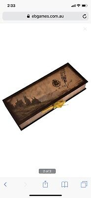 Harry Potter Hogwarts Writing Quill And Ink Set Collectors Box