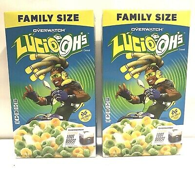 Lucio Ohs Lucioohs Overwatch Cereal New Family size Two pack