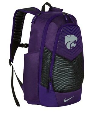 b5abdce886 NWT - Nike Air Max Vapor Power Kansas State Wildcats Purple Backpack BA5285  567