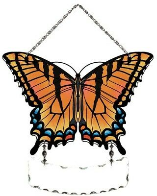 Joan Baker Designs, Hand Painted Suncatcher-SFS2004-Swallowtail Butterfly