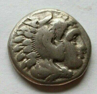 Greek ALEXANDER III The Great AR Drachm, LIFETIME ISSUE of Sardes, P2550