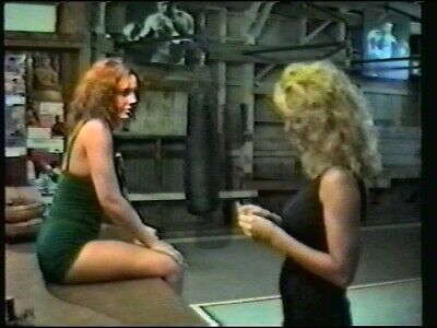 Red Richards vs Susie Wong 2 Matches Classic 1990 DVD Female Wrestling aca30