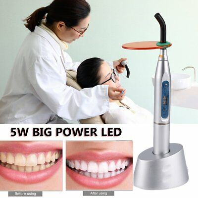 Dental 5W Wireless Cordless LED Curing Light Lamp Machine with Digital Display U