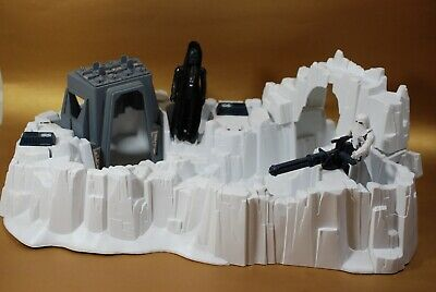 VINTAGE STAR WARS HOTH IMPERIAL ATTACK BASE PLAYSET FIGURES KENNER play set Lot